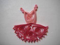 Quilled Ballet Dress #2