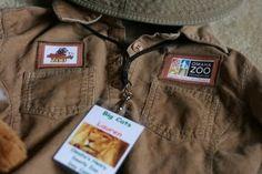 zoo keeper costumes Halloween Zoo, Halloween Class Party, Halloween Costumes For Kids, Happy Halloween, 6th Birthday Parties, 3rd Birthday, Omaha Zoo, Khaki Shirt, Zoo Keeper
