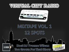 Revival Marketing PR: Virtual City Radio Mixtape Vol. 1 Host DJ Yvonne Wilcox from the Too Grown For That Show with Hip-Hop Lyricist @JayBuggs
