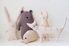 sweet little sewn critters