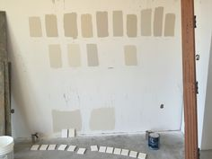 Benjamin Moore Neutrals From top left to bottom right White Sand | Jute | Natural Linen | Muslin | Cedar Key | Tapestry Beige | Clay Beige | Winds Breath | Elmira White | Manchester Tan | Ballet White | White Down | Pale Oak | Bone White