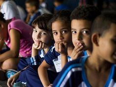 What a gorgeous photo of some of the children you could volunteer with in Brazil