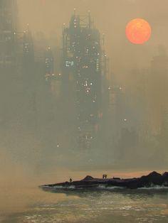 Environment sketch by ~VictorMosquera