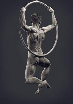 Zbrush Summit 2015: Scott Eaton Workshop by Daniel Peteuil | Figurative | 3D | CGSociety