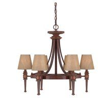 View the Savoy House 1-4391-6 6 Light 1 Tier Chandelier from the Richfield Collection at LightingDirect.com.