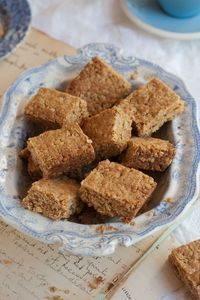my grandmother betty's crunchie recipe - Sam Linsell ; 'crunchies are a very typical South African baked treat.""