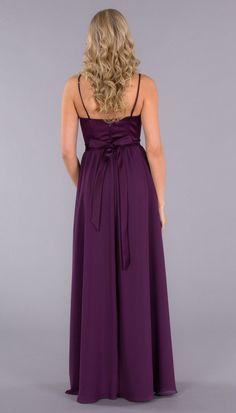 Abigail Satin Top Bridesmaid Dress