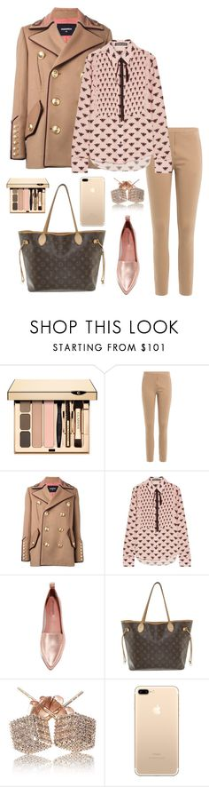 """""""Без названия #964"""" by dashaqua ❤ liked on Polyvore featuring By Malene Birger, Dsquared2, Markus Lupfer, Jeffrey Campbell, Louis Vuitton and Loushelou"""