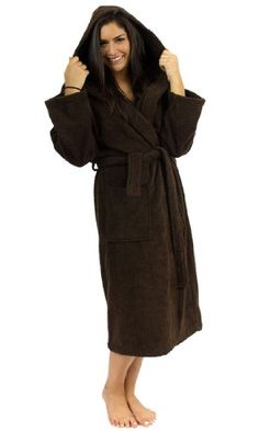 c8478731c3 TowelSelections Hooded Bathrobe - 100% Turkish Cotton