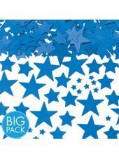 Metallic Blue Star Confetti 2 1/2oz - Party City