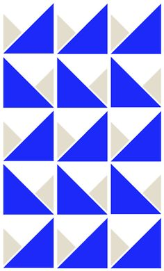 Nice design for a mini quilt. Perhaps a bit overbearing for anything larger.