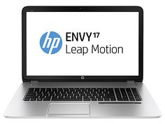 HP ENVY 17t-j100 Leap Motion QE  Notebook PC (This is the first laptop with Leap Motion's 3D motion control technology, letting you play, create, and explore using natural, in-air hand movements in a true 3D space. Apps are available in Airspace, Leap Motion's app store.) $839.99