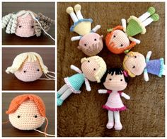 Amigurumi Patterns Doll Free : Crochet dolls patterns that will be a wonderful gift for
