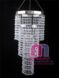 DIY Plastic Beads Chandeliers AMLD With More Than Years In - Chandelier crystals plastic