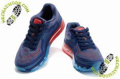 nouvelles chaussures nike femme Air Max 2014 Pourpre/Bleu/Orange