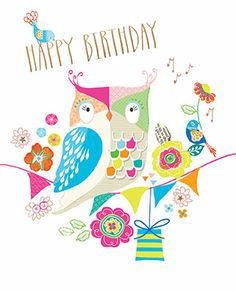 Sherbet Dip birthday cards by Rosanna Rossi. www.rosanna-rossi.co.uk