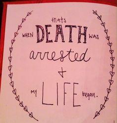 Christian song lyrics about death