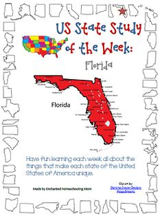 US State Study of the Week Series - Florida