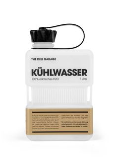 Kühlwasser (Cooling Water) | Designer: Design Made in Germany - http://www.designmadeingermany.de | Client: The Deli Garage - http://www.the-deli-garage.com