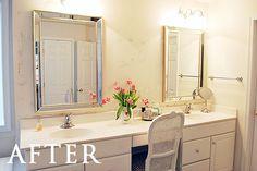 1000 Ideas About Large Bathroom Mirrors On Pinterest Bathroom Mirrors Mir