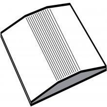 Aluminium Self Adhesive Cover Strip 40mm 2.70m Length
