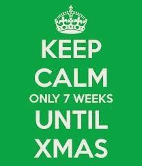 Keep calm only 7 weeks until Christmas. -->>> Come and let me know how I can help you leading up to Christmas. >>> Leave a comment on our blog or Facebook page (see post for link) and let me know how I can help. >>> I will post ideas that I find that I think best suit your request. Emma - Clever Classroom :)