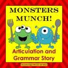 Speech Therapy monster fun abounds in this sound-loaded, interactive original story designed to improve your student's articulation, phonological a...