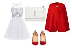 """""""♡"""" by iojikxamiak on Polyvore featuring Christian Louboutin and Yves Saint Laurent"""