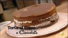 Stasera Eleonora, la figlia di Benedetta, festeggia il suo compleanno ed insieme preparano la torta al Cocco e Cioccolato.