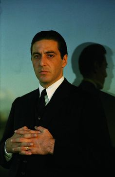 """""""Portrait of Al Pacino for The Godfather directed by Francis Ford Coppola, Corleone Family, Don Corleone, The Godfather Part Ii, Godfather Movie, Godfather Series, Godfather Quotes, Marlon Brando, Robert Downey Jr, Die Verurteilten"""