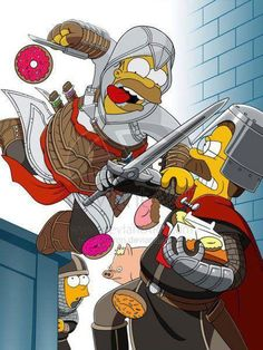 Assassin's Creed: Simpsons Edition.