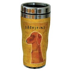 Tree-Free Greetings sg24054 Red Dachshund by John W. Golden 16-Ounce Sip 'N Go Stainless Steel Lined Travel Tumbler by Tree Free, http://www.amazon.com/dp/B00BRBZ0X8/ref=cm_sw_r_pi_dp_u37Yrb0W8S21H