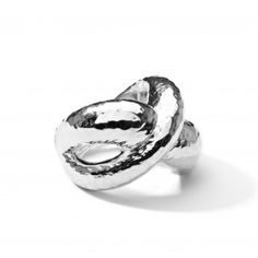 Ippolita | Sterling Silver Glamazon Hammered Crossover Ring - Rings - Sterling Silver