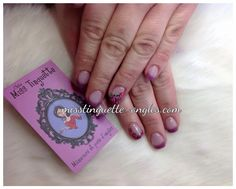 #nail #nails #nailart #roses #rose #pink #frencmanicure #manucurefrancaise @chez_miss_tinguette