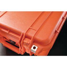 Pelican 1400 Case With Pick N Pluck Foam (orange)