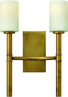 Hinkley | Margeaux 2-Light Wall Sconce Vintage Brass 3582VS