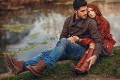 Photo published on 21 April 2015 by Ilya Dvoyakovskiy (Alushta, Russia) in MyWed Wedding Photographers Community Autumn Photography, Couple Photography, Wedding Photography, Card Table Wedding, Rustic Wedding Reception, Winter Pictures, Fall Photos, Engagement Couple, Engagement Photos
