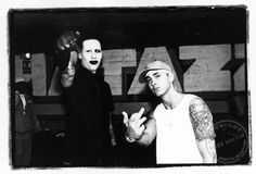 Marilyn Manson and Eminem