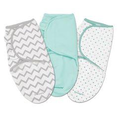 Summer Infant® SwaddleMe® Swaddles - 3 pack - Grey
