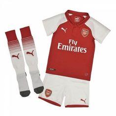 Arsenal Dětské Domácí dres komplet 17-18 Krátký Rukáv