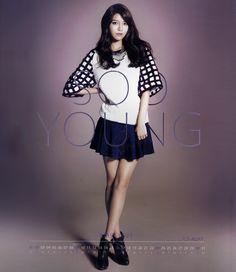 SNSD Sooyoung / Calendar 2014