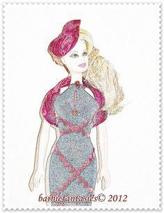 Fantasy in pencil - BarbieFantasies
