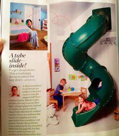 Indoor slide- dreaming I know lol