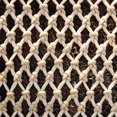 red con nudos