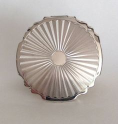 Vintage Sterling Silver Stratton Compact by WhirleyShirley on Etsy