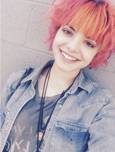 nia from the band hey violet  she is so cute
