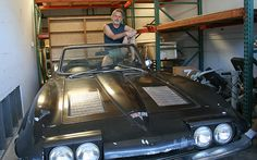 Grateful Dead's Bob Weir and his 1963 Corvette Convertible