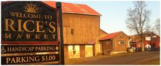 Rice's Flea Market in Solebury Township  2013:  Good Friday(3/29),  Memorial Day(5/27) ,  7/4, Labor Day(9/2),  Columbus Day(10/14),  Black Friday(11/29),  Christmas Eve (12/24)