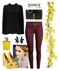 """""""I breath"""" by marianasm on Polyvore featuring Ravel, Wallis, Yves Saint Laurent, Christian Dior and Marni"""