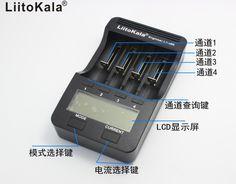Liitokala engineer lii-500 lcd 3.7 v/1.2 v aa/aaa 18650/26650/16340/14500/10440/18500 battery charger với màn hình lii500 5v1a liitokala engineer
